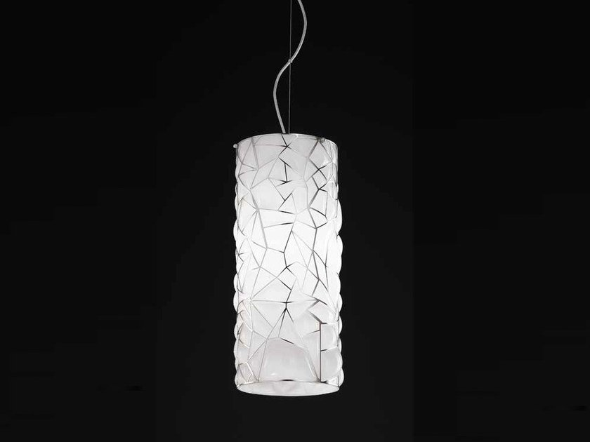 Murano glass pendant lamp ORIONE RS 387 by Siru