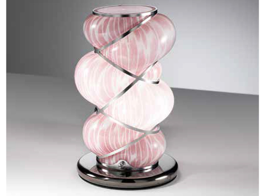 Murano glass table lamp ORIONE RT 384 by Siru