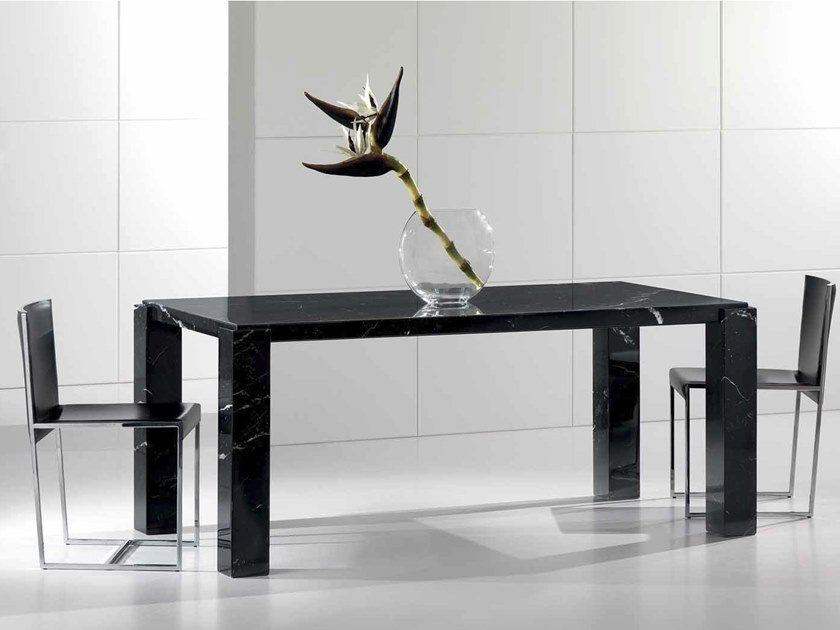 Contemporary style rectangular marble table ORIONE | Table by International Marmi