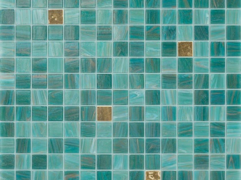 Glass mosaic ORIZABA GOLD by Elements Mosaic
