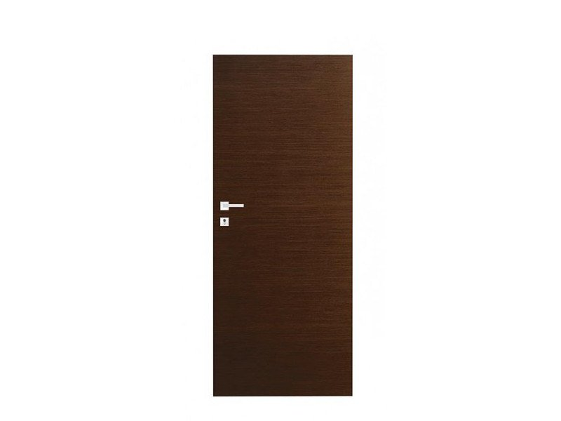 Door panel for indoor use ORIZZONTI SMOOTH COCOA OAK by Metalnova