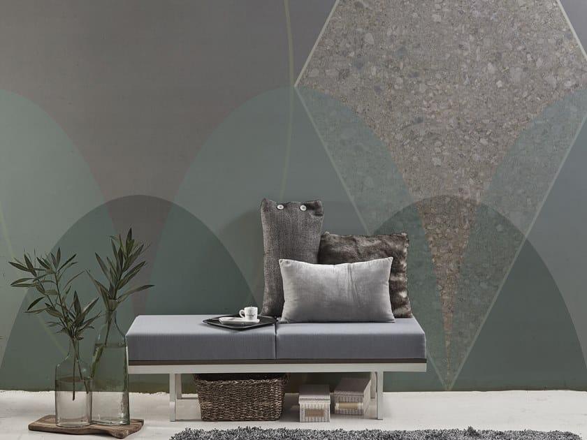 Geometric vinyl wallpaper ORN18_007 | Wallpaper by OR.NAMI