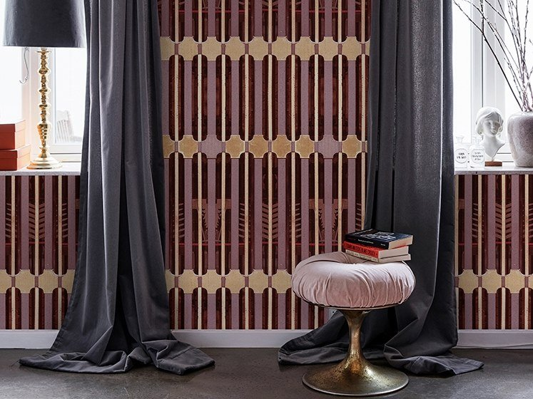Nonwoven wallpaper ORNATE TS by Wall&decò