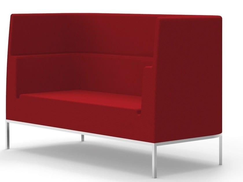 High-back fabric sofa OROS-M by Felicerossi