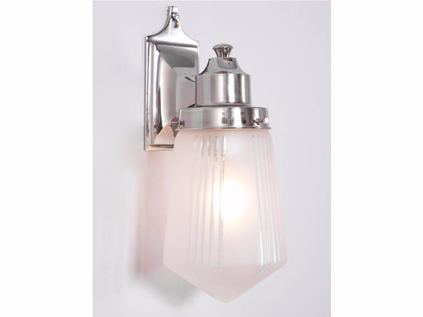 Lampada da parete a luce diretta in nichel OSLO III | Lampada da parete in nichel by Patinas Lighting
