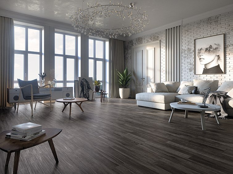 Porcelain flooring with wood effect OSLO by ITT Ceramic