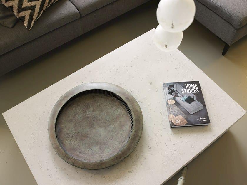 Bronze centerpiece OSTIA by Gardeco