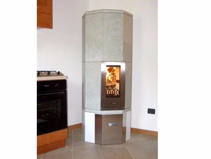 Wood-burning natural stone stove OTA2   Natural stone stove by KarniaFire