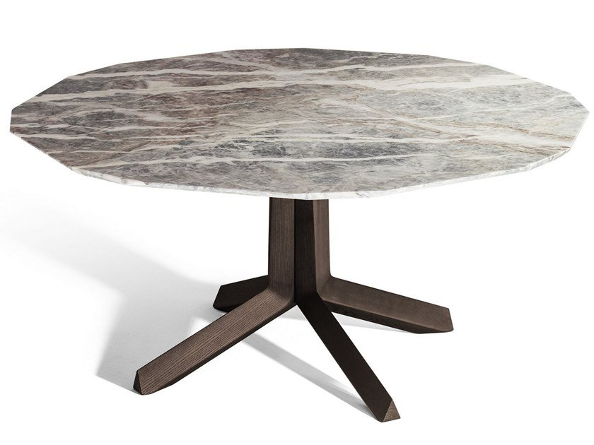 Marble living room table OTHELLO | Marble table by Poltrona Frau