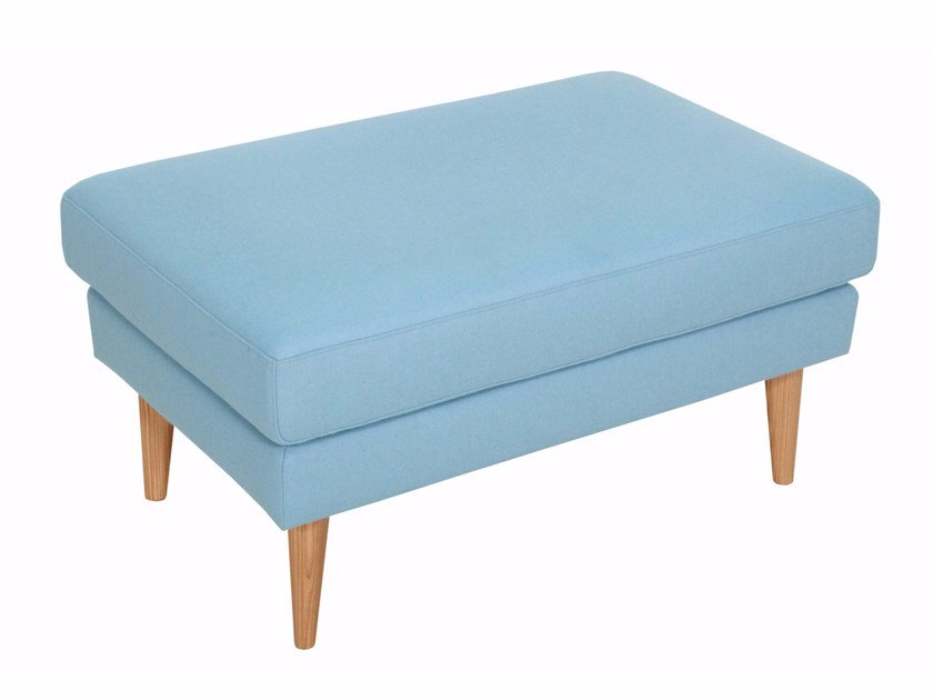 Fabric footstool OTTO | Footstool by SITS