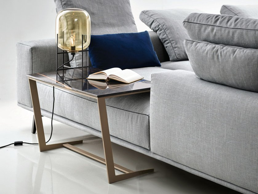 Rectangular marble coffee table OTTO by Papadatos