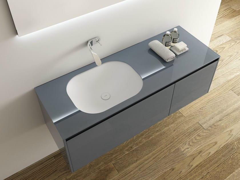 Undermount Solid Surface® washbasin OU | Undermount washbasin by INBANI