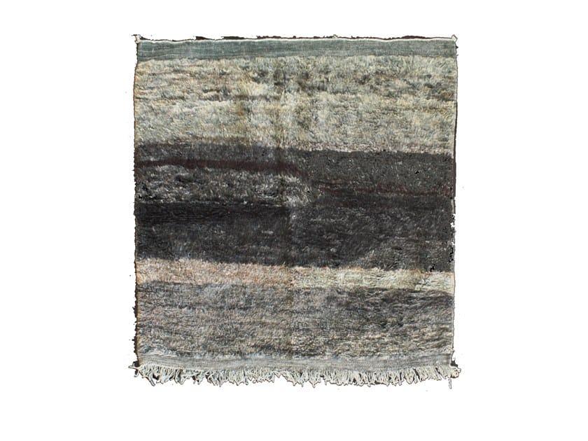 Long pile wool rug OUEDZEM TA780BE by AFOLKI