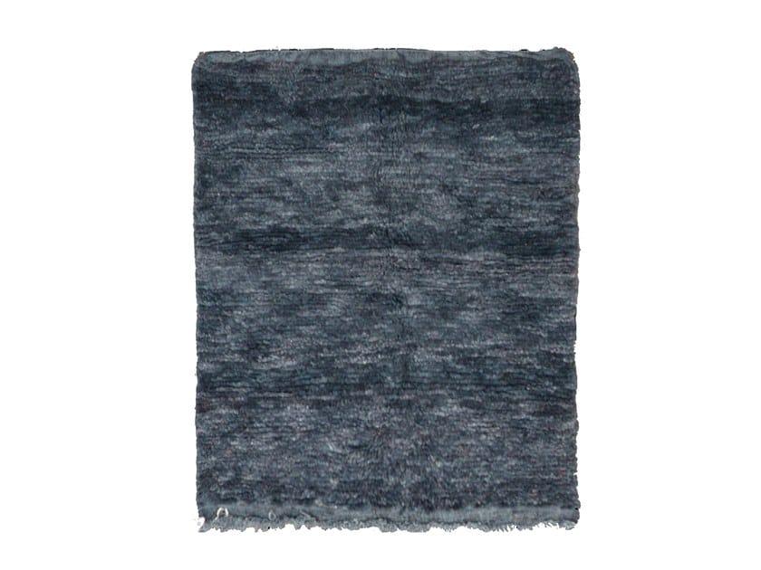 Long pile wool rug OUEDZEM TA793BE by AFOLKI