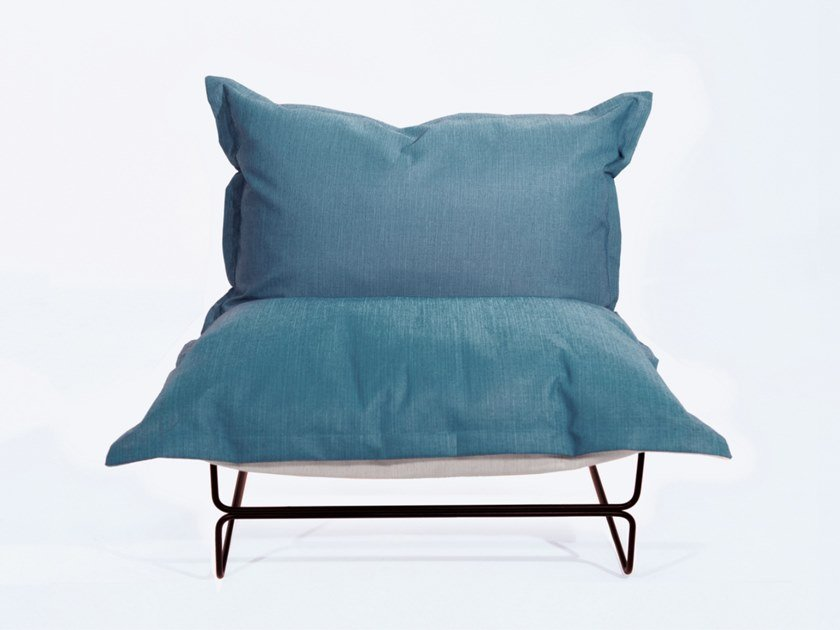 Batyline® garden armchair OUTCHAIR by Marine Peyre Editions