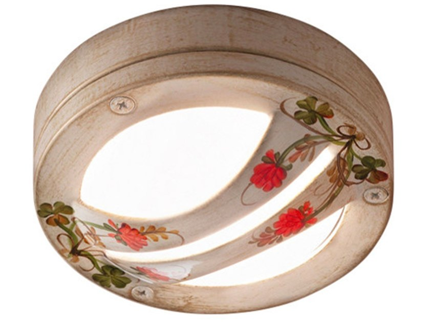 Ceramic outdoor ceiling light BRINDISI | Outdoor ceiling light by FERROLUCE