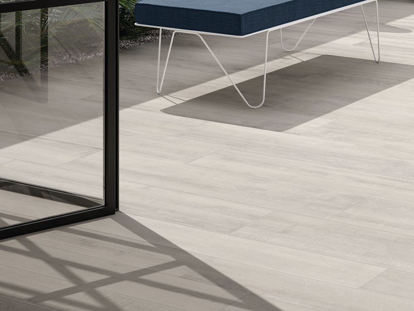 Porcelain stoneware outdoor floor tiles with wood effect LOFT | Outdoor floor tiles by Italgraniti
