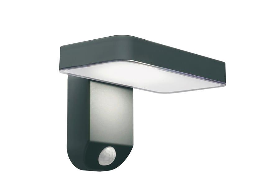 Applique per esterno a LED ad energia solare in plastica SOLARE | Applique per esterno by SOVIL