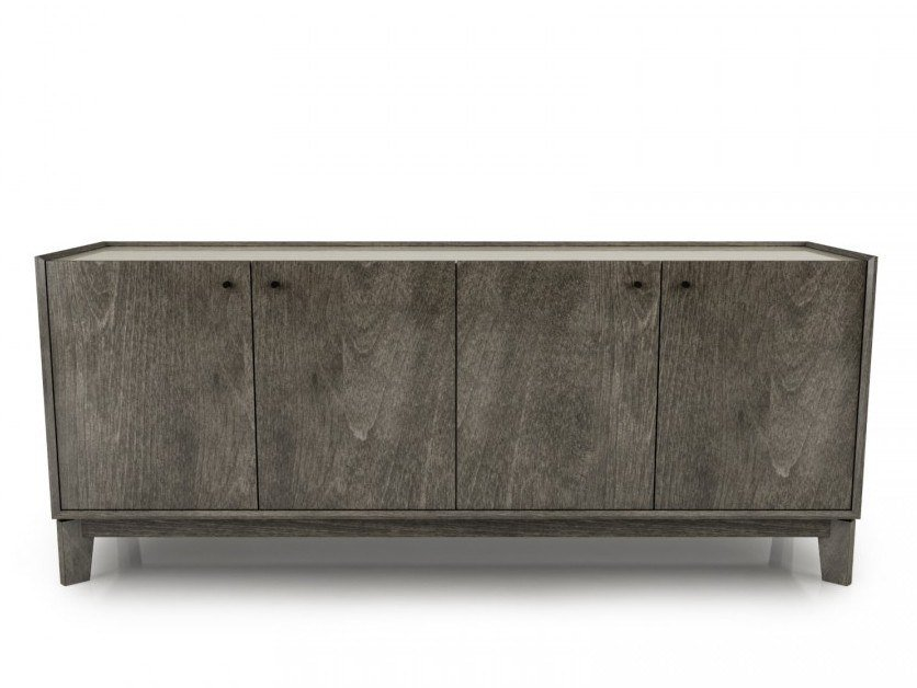 Birch sideboard with doors OUTLINE | Sideboard by Huppé
