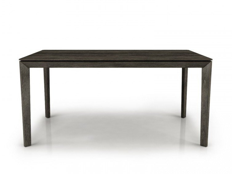 Rectangular birch table OUTLINE | Table by Huppé