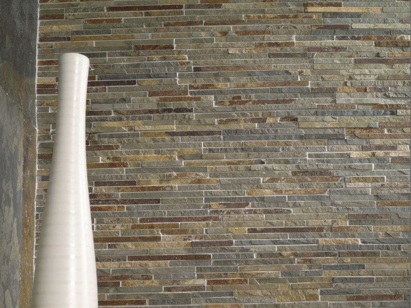 Natural stone mosaic OUTLINES by L'ANTIC COLONIAL