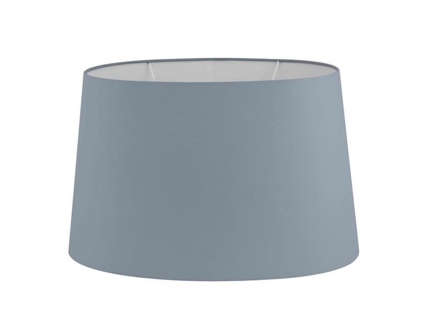 Fabric lampshade OVAL BLUISH GREY   Lampshade by Vista Alegre