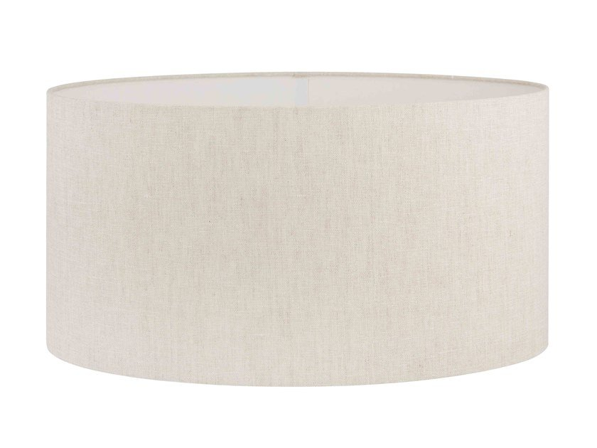 Fabric lampshade OVAL NATURAL LINEN | Lampshade by Vista Alegre