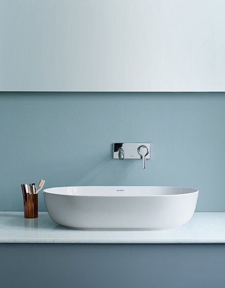 Luv | Oval Washbasin Luv Collection By Duravit Design Cecilie Manz