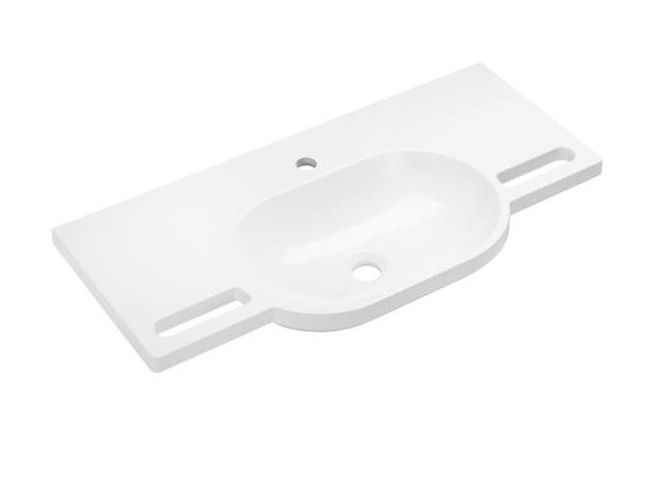 Lavabo ovale in materiale composito Lavabo ovale by HEWI