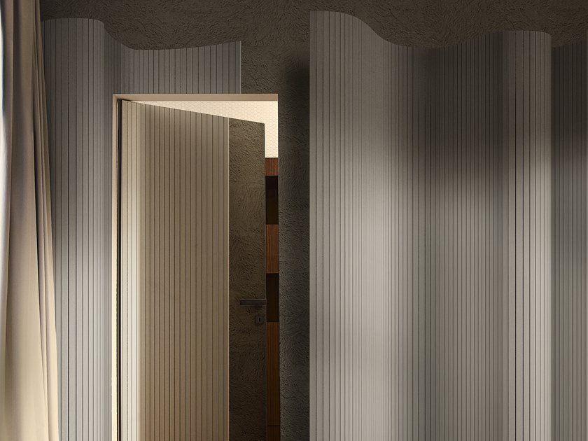 Striped wallpaper OVER by Wall&decò