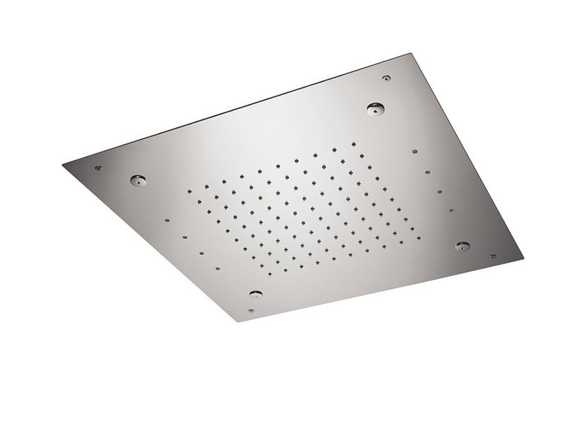 Built-in steel overhead shower OVERHEAD SHOWERS FOR CHROMOTHERAPY | Built-in overhead shower by newform