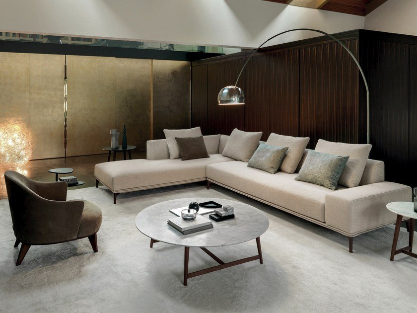 Corner Fabric Sofa With Chaise Longue OVERPLAN | Corner Sofa By Désirée  Divani