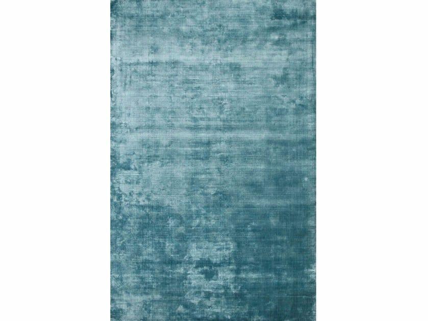 Viscose rug OXFORD PHPV-19 Aegean Blue by Jaipur Rugs