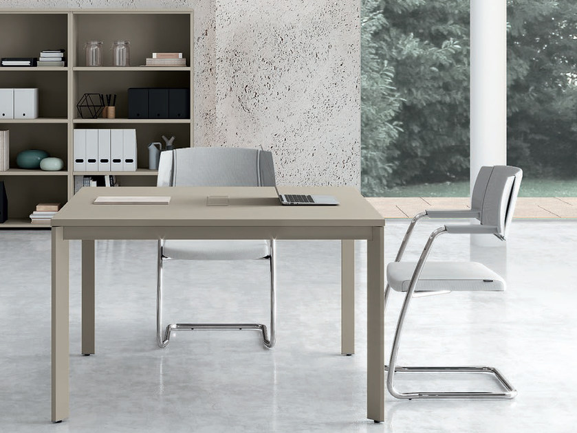 OXI | Square meeting table Oxi Collection By Las Mobili