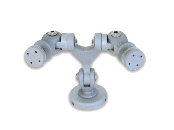Sistema e profilo di ancoraggio per facciata in alluminio OXIDAL 1030 by Nuova Oxidal