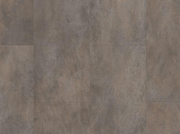 Vinyl flooring with concrete effect OXIDIZED METAL CONCRETE by Pergo