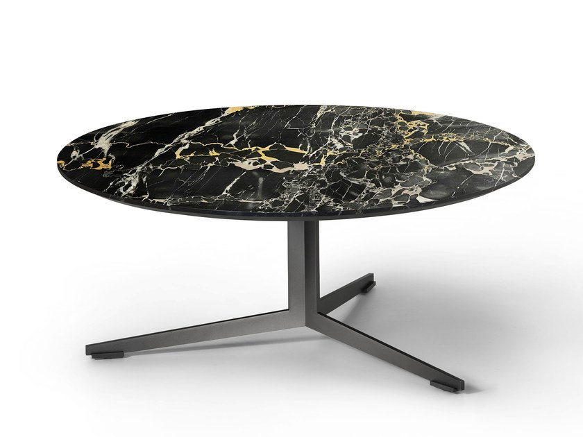 Round marble coffee table OYDO | Marble coffee table by Lema