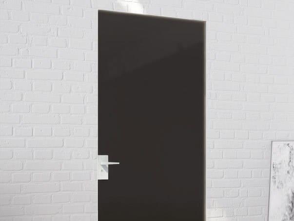 Counter frame for flush-fitting doors P-070 by Metalglas Bonomi