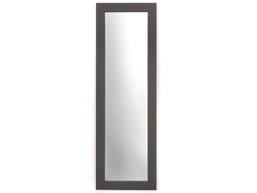 Freestanding rectangular framed mirror P 1640 | Mirror by Annibale Colombo