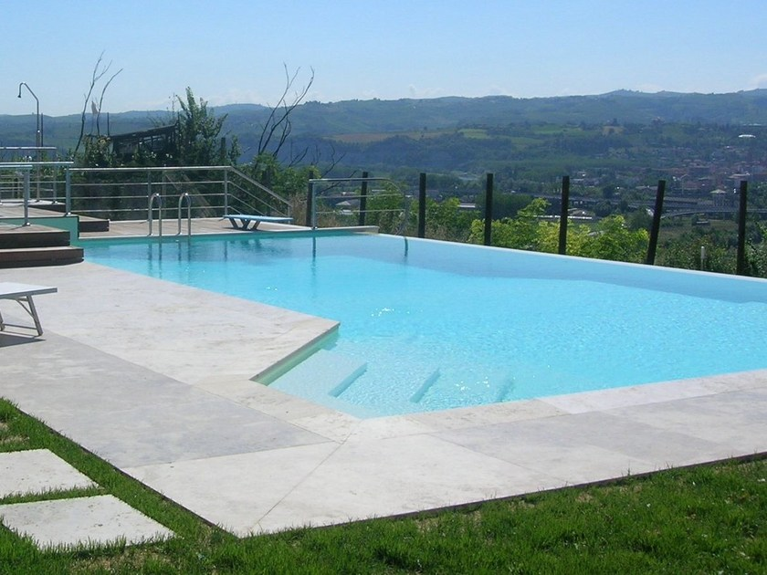 In-Ground natural stone swimming pool Swimming pool 10 by GH LAZZERINI