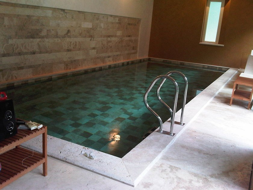 In-Ground Indoor natural stone swimming pool Swimming pool 14 by GH LAZZERINI