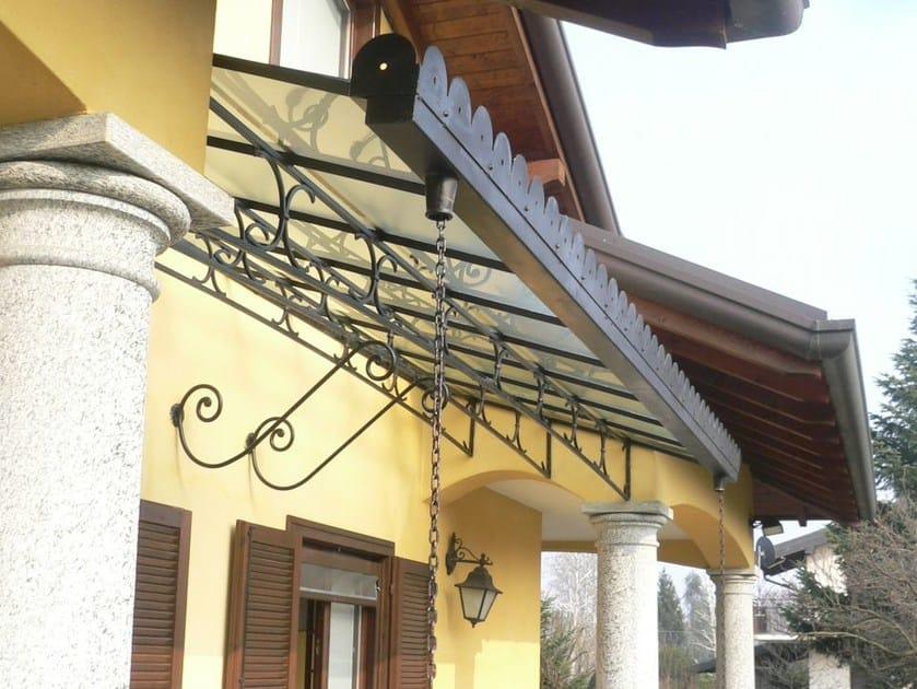 Iron door canopy Door canopy 8 by GH LAZZERINI