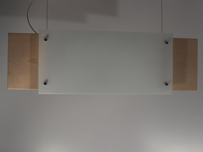 Plexiglass pendant lamp P003 | Pendant lamp by Ipsilon PARALUMI