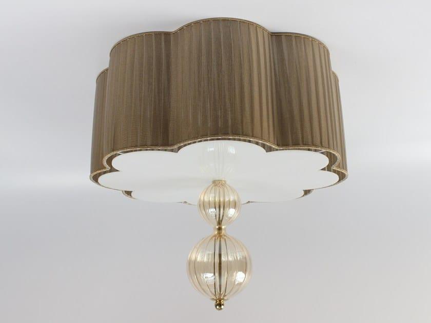 Pleated fabric lampshade P007 | Lampshade by Ipsilon PARALUMI