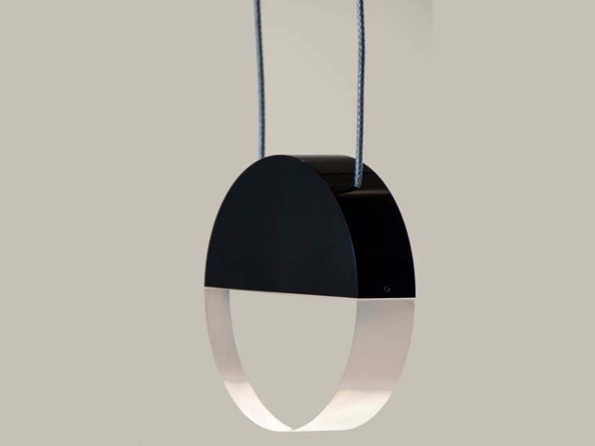 LED Anodized aluminium pendant lamp with dimmer P1 BALANCE by Archilume