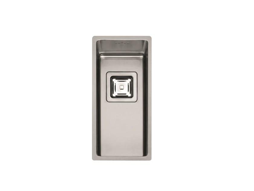 Single stainless steel sink P1B 2043 Q U | Sink by Fulgor Milano