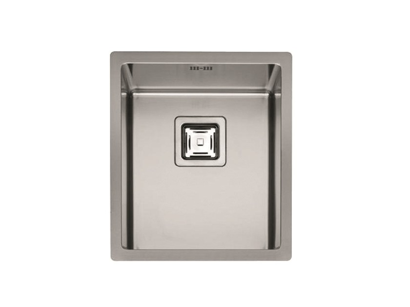 Single stainless steel sink P1B 3945 Q F-SF   Sink by Fulgor Milano