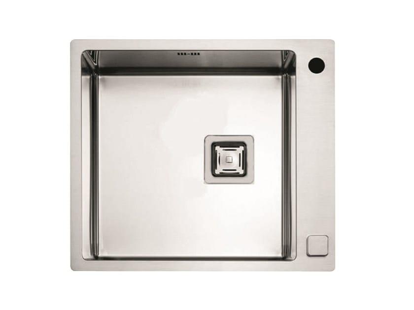Single stainless steel sink P1B 5651 QA F-SF | Sink by Fulgor Milano