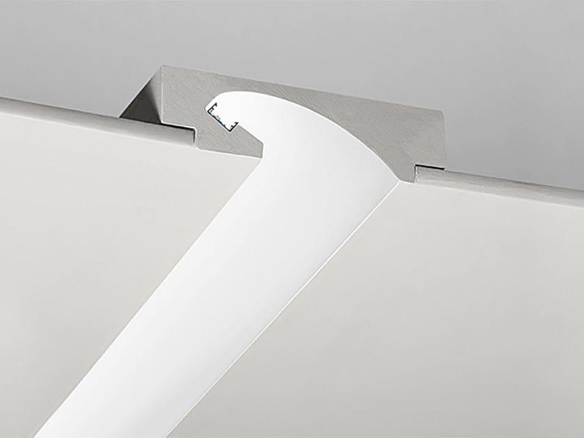 Profilo per illuminazione lineare in gesso P2 by NOBILE ITALIA