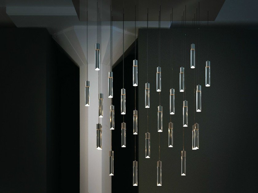 LED adjustable pendant lamp P28 by Archilume